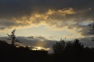Sunset at Gwalia