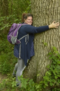 Nothing better than hugging a tree
