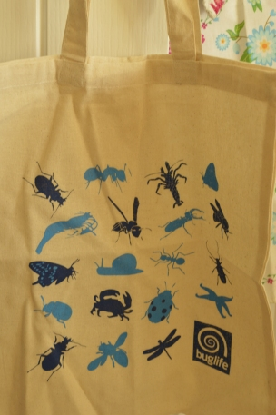 The reuseable bag from Buglife- I love this!