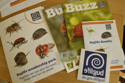 The membership pack from Buglife.