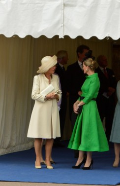Camilla, The Duchess of Cornwall and Sophie, The Countess of Wessex