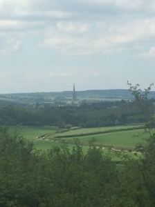 Looking back to Sailsbury